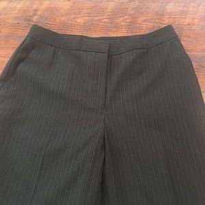 Calvin Klein Pinstripe Black Trousers